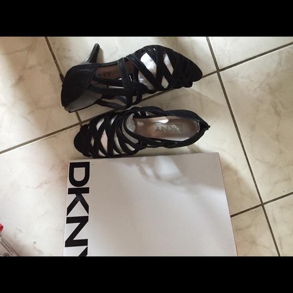 Dkny Shoes - DKNY strappy high heel